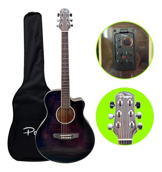 Guitarra Electroacustica Parquer Gac109 Mcbkeq4 Envio - Cuotas