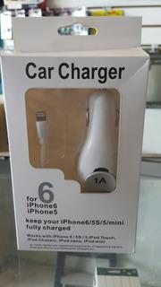 Cargador De Carro iPhone 6 / 5