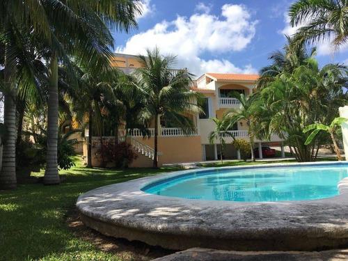 Imagen 1 de 27 de Elegante Residencia En Venta En Bonfil, Cancun C2423