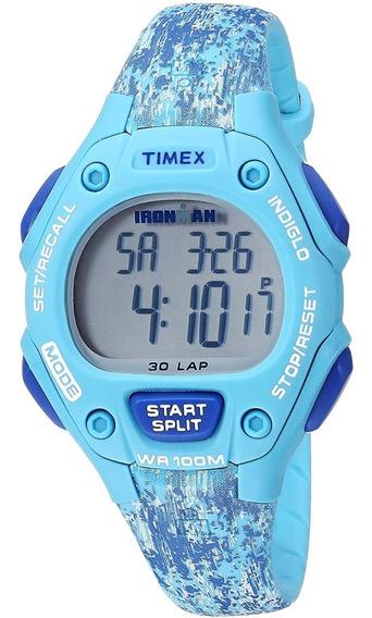 Reloj Dama Timex Ironman Deportivo Tw5m16200 Original