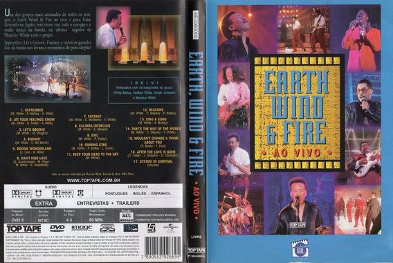 Dvd Earth Wind E Fire Ao Vivo Top Tape 1995