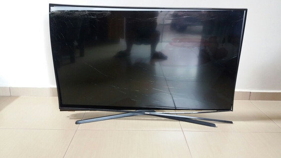 Tv Sansung 49 Led Smart. Tela Quebrada.