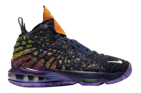 Nike Lebron 17 Monsters Gs (youth) Importación Mariscal