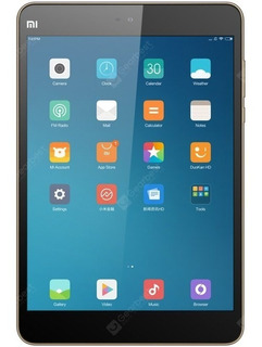 Tablet Mi Max #. Mi Pad 2 16g Gold Ingles Idioma