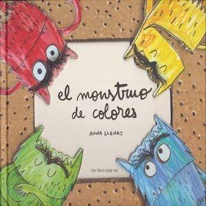 Imagen 1 de 1 de Monstruo De Colores El Un Libro Pop Up