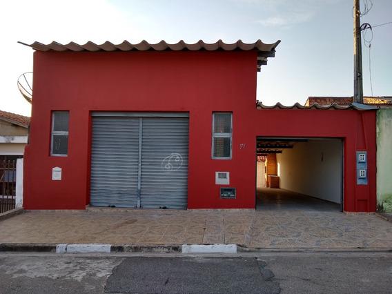 Casa E Salão Comercial - Investimento - Oportunidade