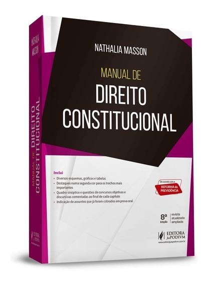 Manual De Direito Constitucional 8ª Edição (2020)