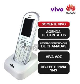 Telefone Sem Fio De Chip Huawei Fc612e Bloqueado Usado Leia