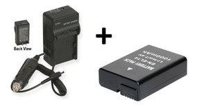 Kit Carregador + Bateria En-el14 Nikon D3100, D3200, D3300