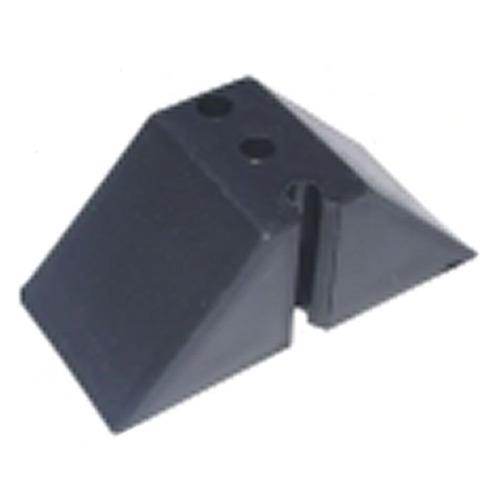 Calço Para Telha Trapézio T 40 2 Furos Kit 10 Peça(s) Preto