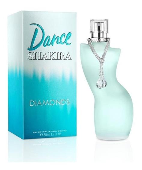 Perfume Shakira Dance Diamonds Feminino Eau De Toilette 50ml