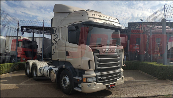 Scania R 480 6x4 Highline 2013 ** Com Retarder **