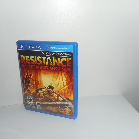 Resistance Burning Skies Ps Vita Mídia Física