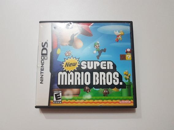 Capa New Super Mario Bros Original Para Nintendo Ds