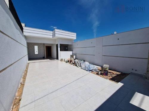 Vendo Casa Nova - Parque Nova Carioba - Americana - Sp - Ca0592