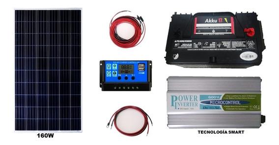 Kit Solar Fotovoltaico,max 8oowh/cada24h Envio Ocurre Gratis
