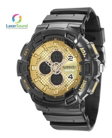 Relógio Speedo Masculino 65075g0evnp3, C/ Garantia E Nf