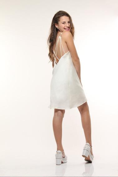Vestido De Fiesta Bretel Teen Adolescente -10 12 14