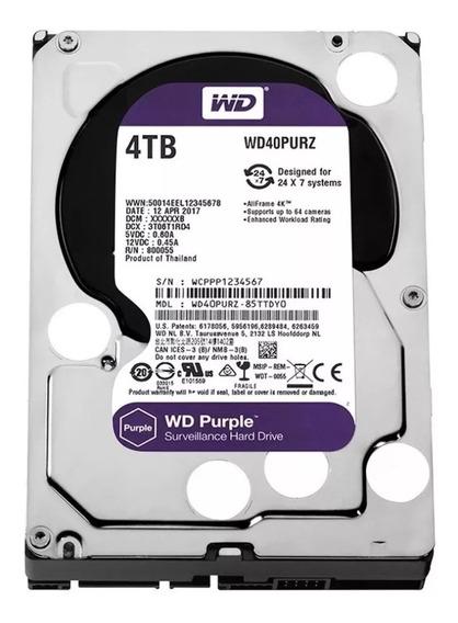 Disco Rigido 4tb Wester Digital Purple