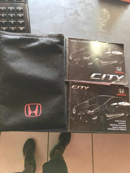 Manual Proprietario Honda City 2012 Completo