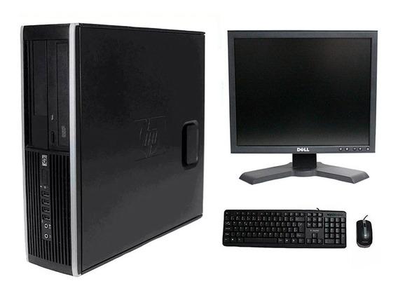 Computador Hp Elite 8300 I3 4gb 240ssd Monitor 17 Polegadas
