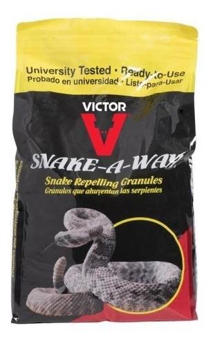Imagen 1 de 4 de Snake-a-way 10 Libras. Gránulos Repelentes De Serpientes