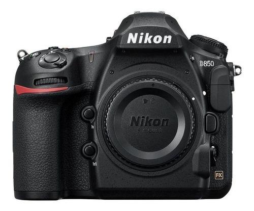 Nikon D850 DSLR cor  preto