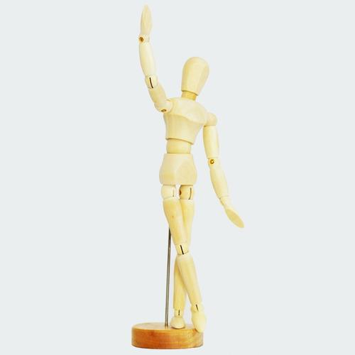 Figura Humana De Madera - Maniquí Muñeco Para Arte Dibujo
