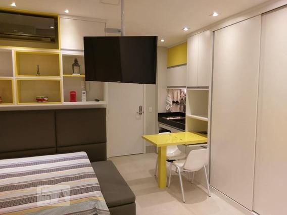 Apartamento Para Aluguel - Perdizes, 1 Quarto, 25 - 893064976