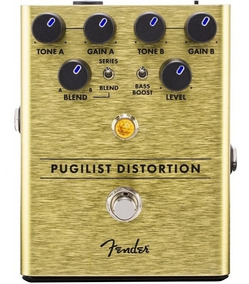 Pedal Fender Pugilist Distortion + Nf E Garantia!