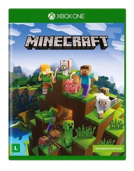Jogo Novo Lacrado Minecraft Xbox One Edition Para Xbox One