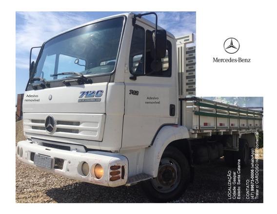 Caminhão Mercedes Benz 712 Eletrônico