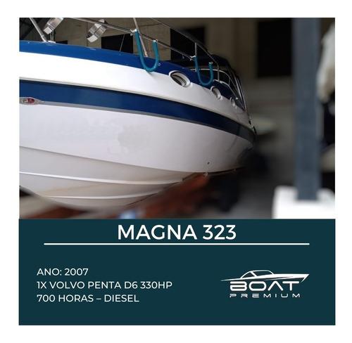 Magna 323, 2007, 1x Volvo Penta D6 330hp - Phantom - Focker