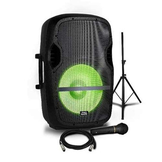 Parlante Pro Bass Elevate Lp Bluetooth Tripode Microfono