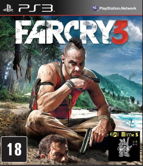 Far Cry 3 Jogos Ps3 Psn Original Receba Hoje