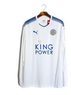 Camisa Futebol Masculino Leicester City 2017/18 Puma