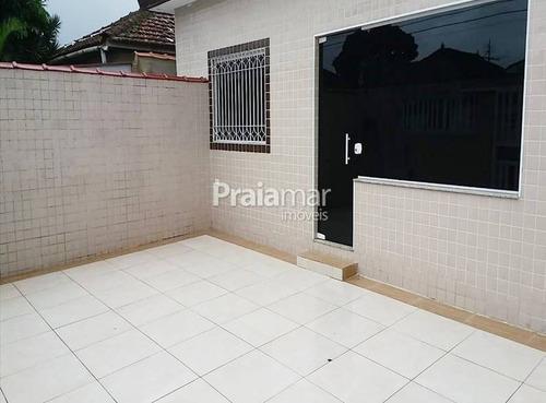 Casa 2 Dorms   1 Suite I 1 Vaga   76m²   São Jorge I Santos - 541