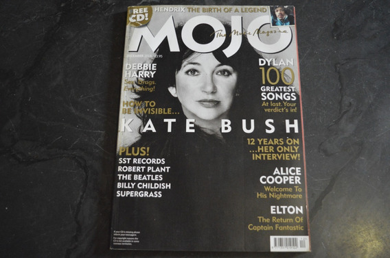Mojo Magazine 145 Kate Bush Revista