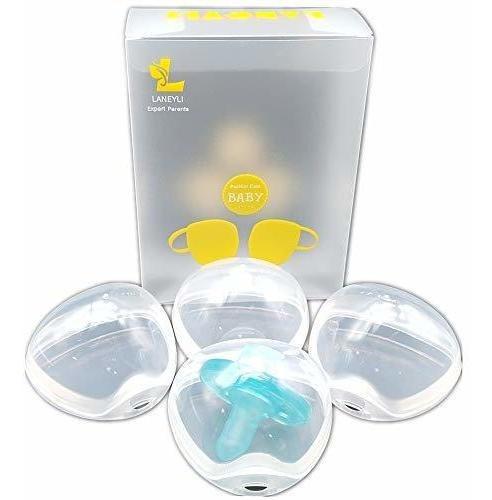 Imagen 1 de 7 de Laneyli Chupete Box Chupete Shield Case Chupete Clip Clip (t