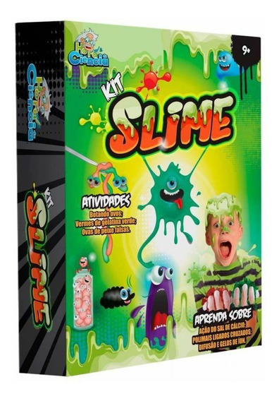 Kit Slime - Hora Da Ciência - Dican