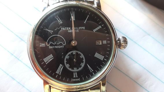 Relógio Patek Phelippe Geneve, Automatic Impec, Noite Dia.