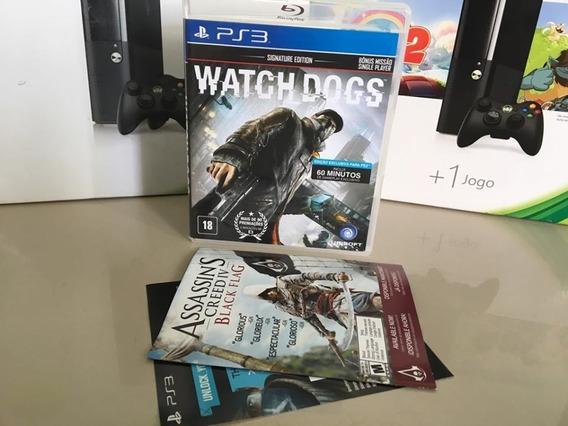 Watch Dogs Ps3 Semi Novo Original Dvd