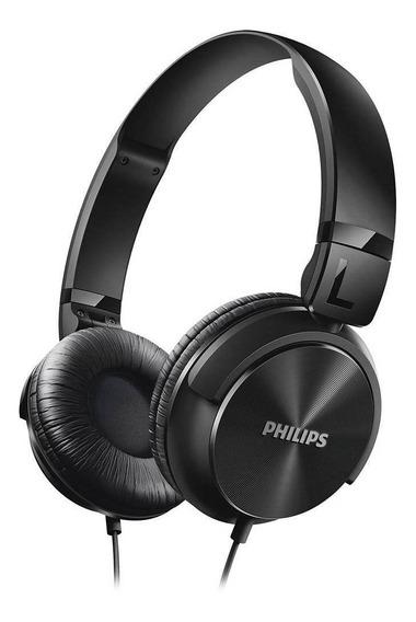 Fone De Ouvido Philips Shl3060bk Arco 32 Mm 106 Db 1000mw