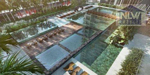 Apartamento Com 3 Dormitórios À Venda, 104 M² Por R$ 1.485.965,00 - Brooklin - São Paulo/sp - Ap1916