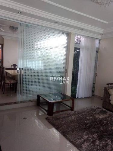 Casa Com 3 Dormitórios À Venda, 340 M² Por R$ 1.600.000,00 - Jardim Campos Elísios - Jundiaí/sp - Ca1874