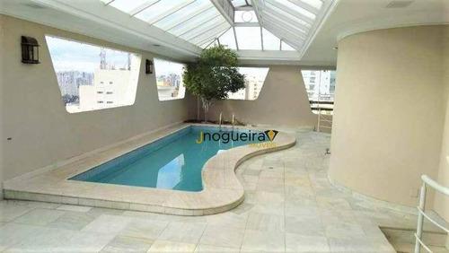 Cobertura Com 4 Dormitórios À Venda, 440 M² Por R$ 4.499.000,00 - Brooklin - São Paulo/sp - Co0059