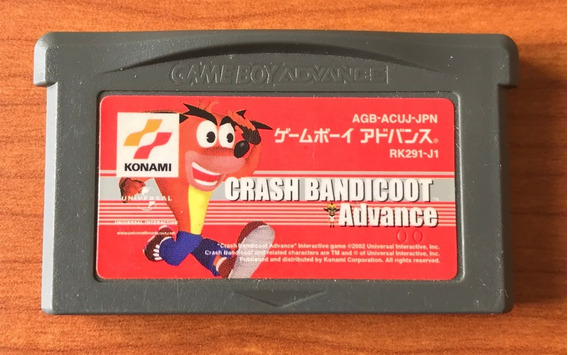 Crash Bandicoot Advance - Original Gameboy Advance - Japones