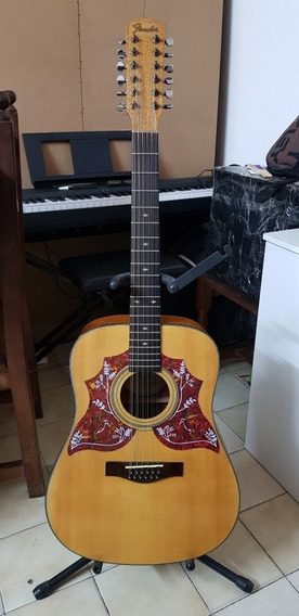 Guitarra Electroacustica Fender Dg-16e-12 Nat