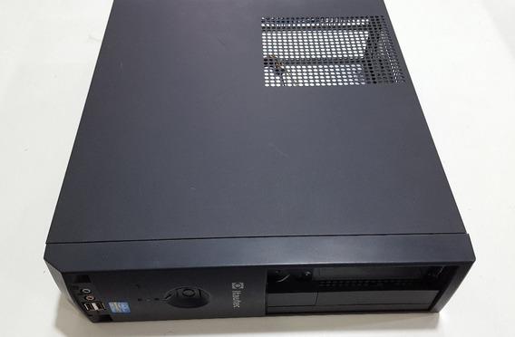 Gabinete Computador Pc Com Fonte Itautec Slim + Acessórios