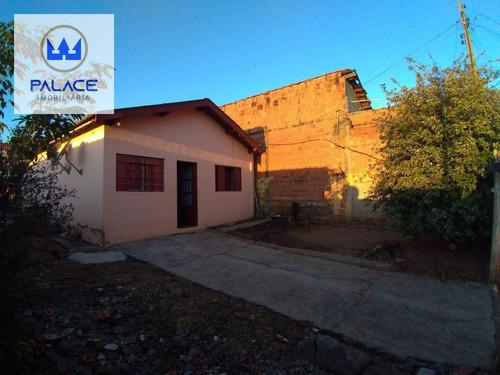Casa À Venda Jardim Glória, Piracicaba/sp, R$ 250.000,00 - Ca0825